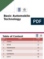 Basic Automobile Technology & Fiat Premier Technologies