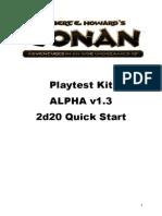 Conan Playtest Rules v1-3