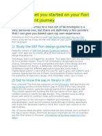 10 Tips to Get You Started on Your Fiori Development Journey