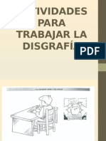 actividades disgrafia