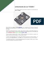 Sensor de Reconhecimento de Cor TCS230