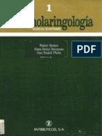 Becker Walter Otorrinolaringologia Manual Ilustrado