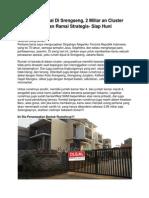 Rumah Dijual Di Srengseng, 2 Miliar an Cluster Nyaman Ramai Strategis- Siap Huni