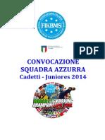 RIMINI-Convocazione Ufficiale 2014