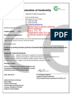 21402586-Ctf-3206_0_class 1 Zone 2 Package Certification, Atex, Zone 2 Self Declaration - Code 2