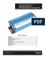 Jacobs Electronics Instructions Pro Street Kit 372546 370506