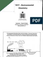 enviromental chemistry