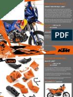 KTM 690 Enduro Rally Light Kits 09 360