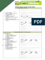 Formulir Biodata siswa baru