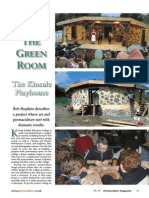 Permaculture Magazine - Building a Playhouse Using Traditional Techniques