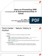 Promoting SME Innovation-China