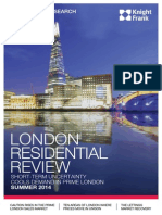 Knight Frank - London Residential Review Summer