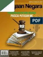 Media Kekayaan Negara Edisi No. 12 Tahun IV _ 2013 - Pengurusan Piutang Negara Pasca Putusan Mahkamah Konstitusi