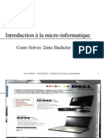 Introduction micro informatique.