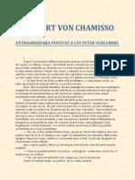 Adalbert Von Chamisso-Extraordinara Poveste a Lui Peter Schlemil 1.1 10