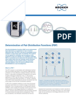 Bruker Determination of PDF Flyer
