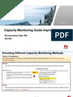 Capacity Monitoring Guide Improvements