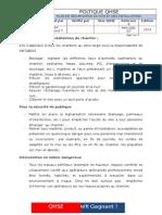 Sécurisation Du Site Et Des Installations