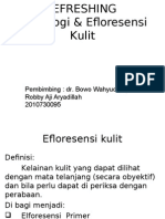 Refreshing Morfologi Dan Efloresensi Kulit