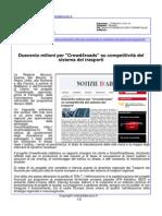 """Duecento milioni per """"Cross4roads"""" su competitività del sistema dei trasporti - Notiziedabruzzo.it, 18 agosto 2015"""