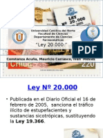 Ley 20000 chile