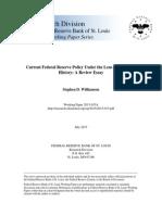 St Louis Fed Qe Study