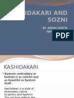 Kashidakari and Sozni