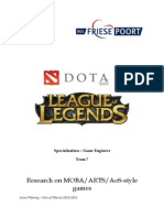 research on moba-arts-aos-style games