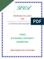 BCA Syllabus1