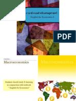 English for Economics I