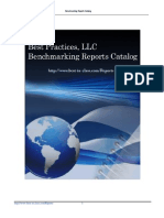 Benchmarking & Research Reports Catalog by Best Practices, LLC (Aug-2015)