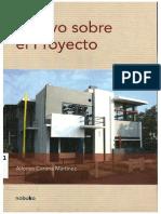 Ensayo Sobre El Proyecto - Alfonso Corona Martinez - Cap 1