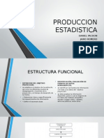 PRODUCCION ESTADISTICA