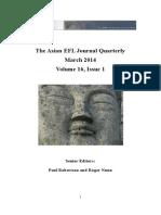 AEFL Journal March 2014