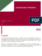 ICMS São Paulo - Substituição Tributária