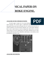 Technical Paper on Six Stroke Engine