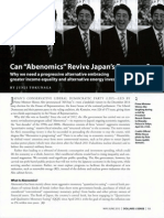 Can Abenomics Revive Japan's Economy?