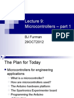 Lecture 9 Microcontrollers Pt1