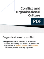Conflict and Organisational Culture