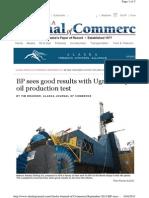 Heavy Oil News Article in Alaska