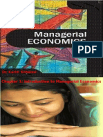 Managerial Economics Ch 1