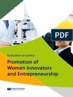 Women Innovators and Entrepreneurship 3815