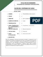 Carta Descriptiva Calor2