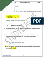 3.Ploarization and Types of Polarization