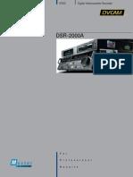 Sony DSR 2000 Brochure