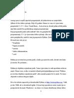 Python Tutorial 1-3 (Cro)