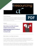 Asset Resourcing Summer Newsletter