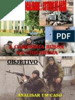 A Campanha Russa Na Chechênia