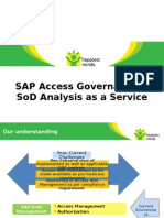 SoD Analysis and Access Governance
