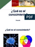 5. Teorías gnoseológicas